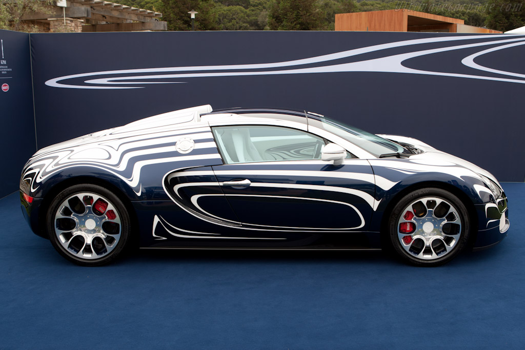 bugatti veyron 16 4 grand sport 39 l 39 or blanc 39 high resolution imag. Black Bedroom Furniture Sets. Home Design Ideas