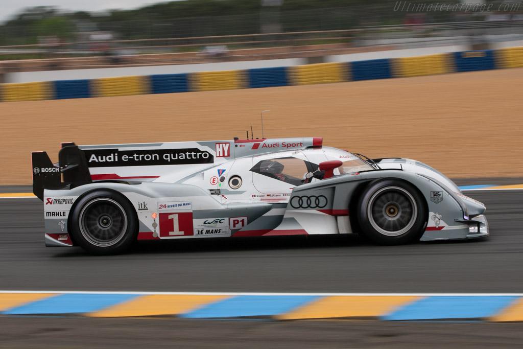 Audi R18 E Tron Quattro 2012 Le Mans Test High