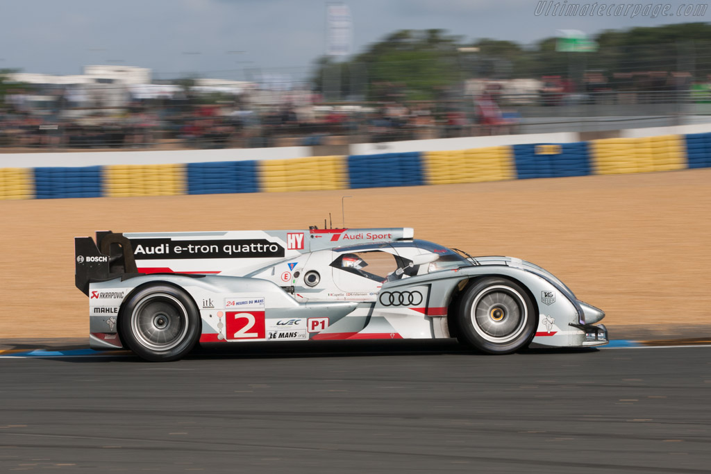 Audi R18 E Tron Quattro 2012 24 Hours Of Le Mans High