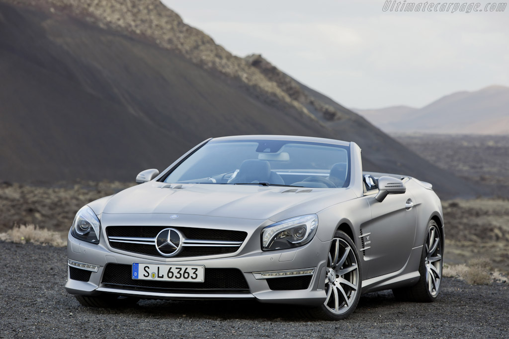 Mercedes-Benz SL 63 AMG High Resolution Image (4 of 12)