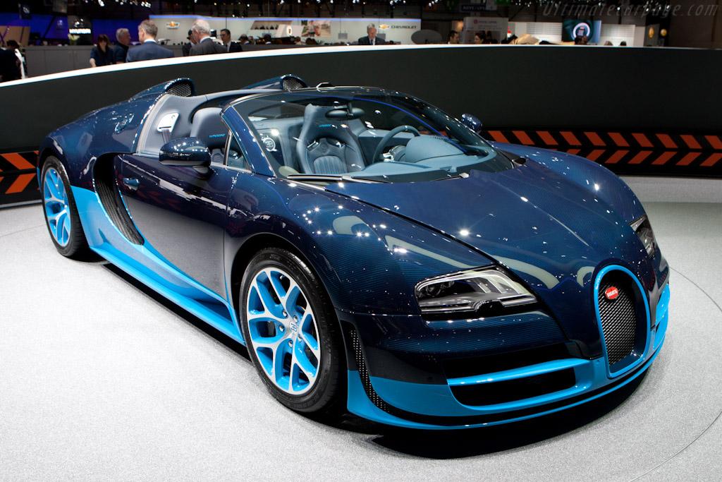 Bugatti Veyron 16.4 Grand Sport Vitesse ( - 2012 Geneva ...