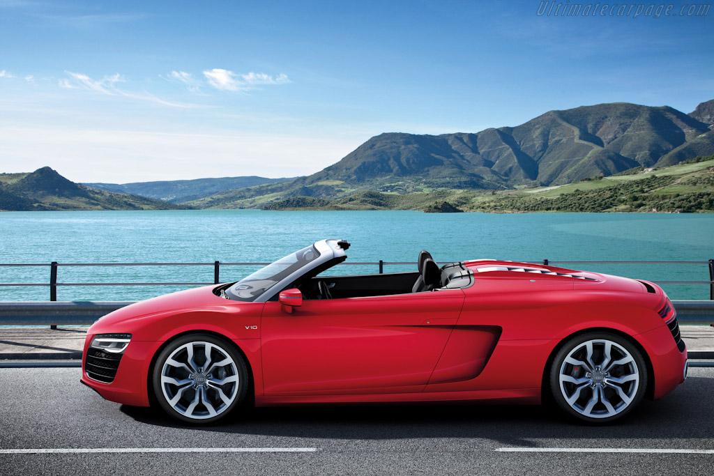 Audi R8 V10 Spyder High Resolution Image 3 Of 6