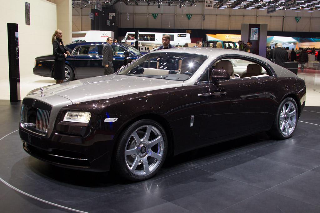 Rolls-Royce Wraith ( - 2013 Geneva International Motor ...