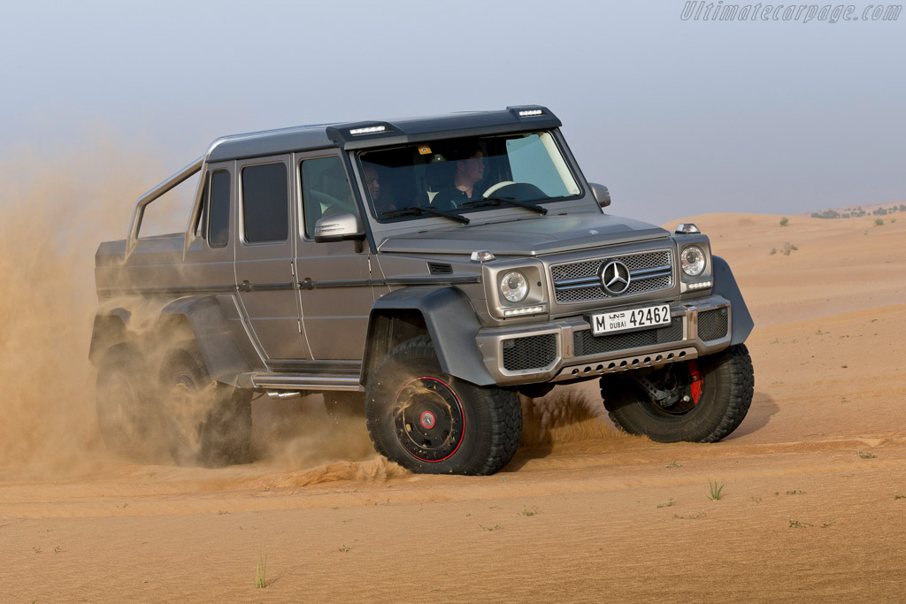 Mercedes benz g 63 amg 6x6 high resolution image 10 of 30 for Mercedes benz g 63 amg 6x6