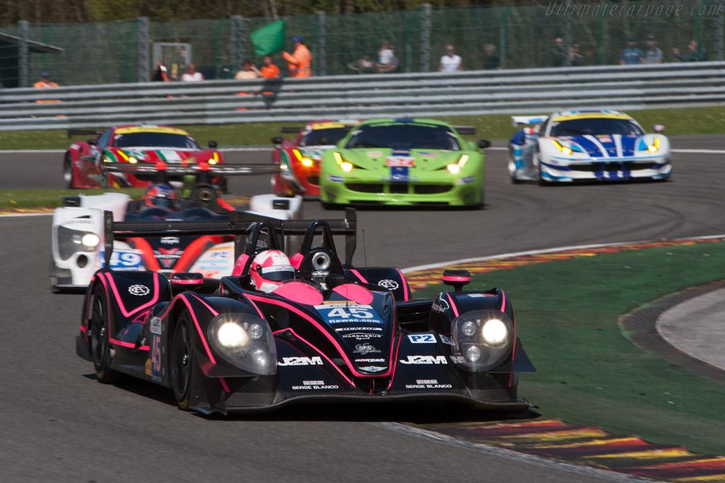 Morgan LMP2 Nissan (s/n 01-17 - 2013 WEC 6 Hours of Spa ...