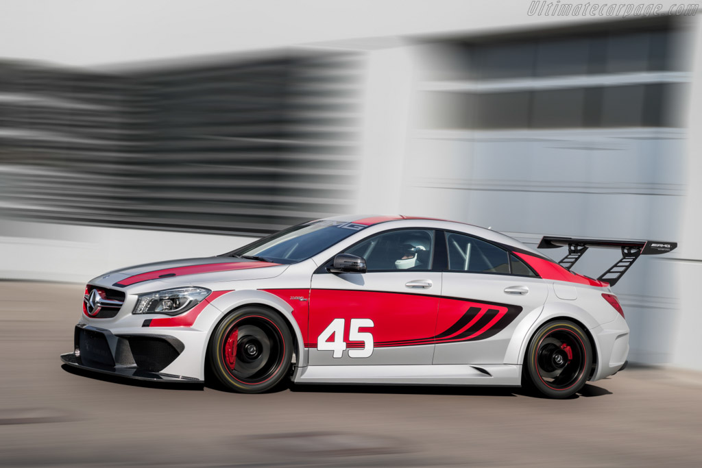 Mercedes benz cla 45 amg racing series high resolution for Mercedes benz race car