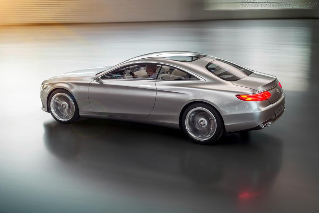 Mercedes S Coupe >> Mercedes-Benz Concept S-Class Coupé High Resolution Image (10 of 16)