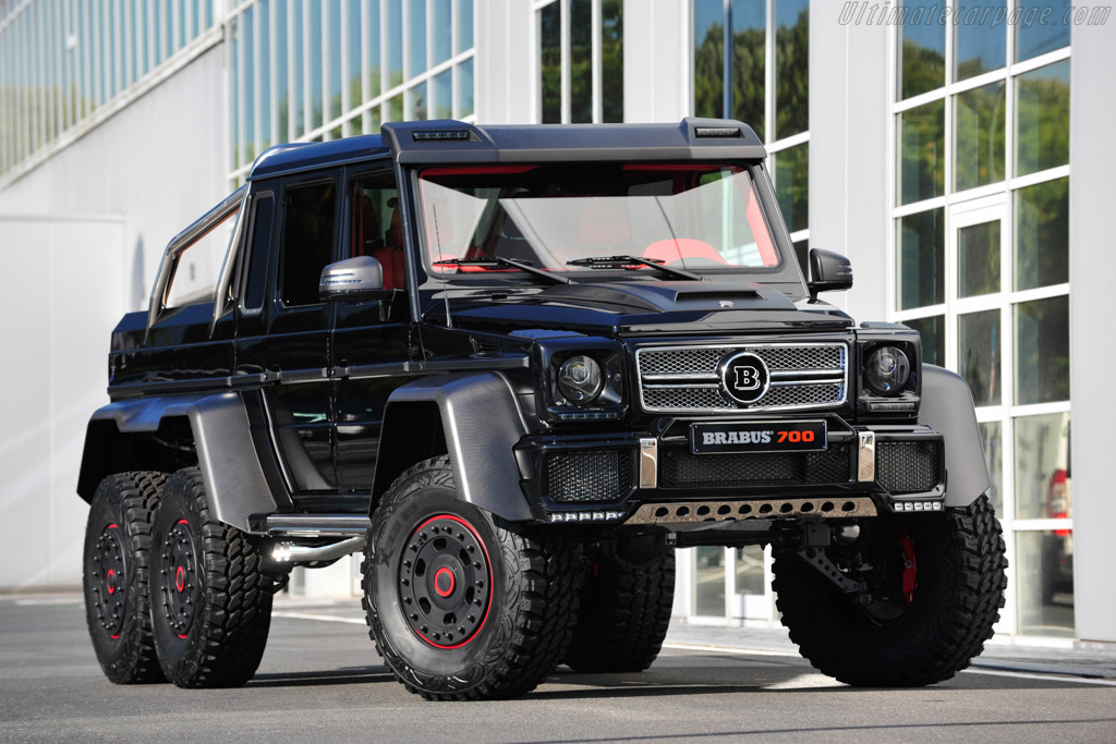 Can Am 6x6 2018 >> Brabus B63S - 700 6x6 High Resolution Image (1 of 18)