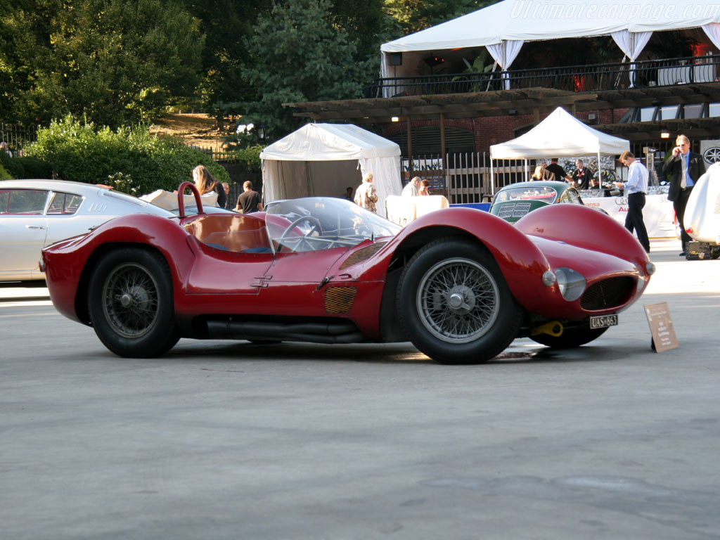 Maserati+birdcage+tipo