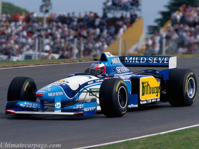 Formula 1 Autos campeones del 88 al 2010