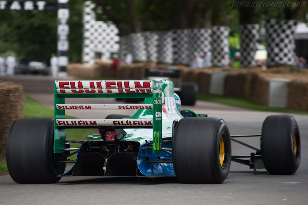 Jordan 191 Ford S N 191 06 2012 Goodwood Festival Of