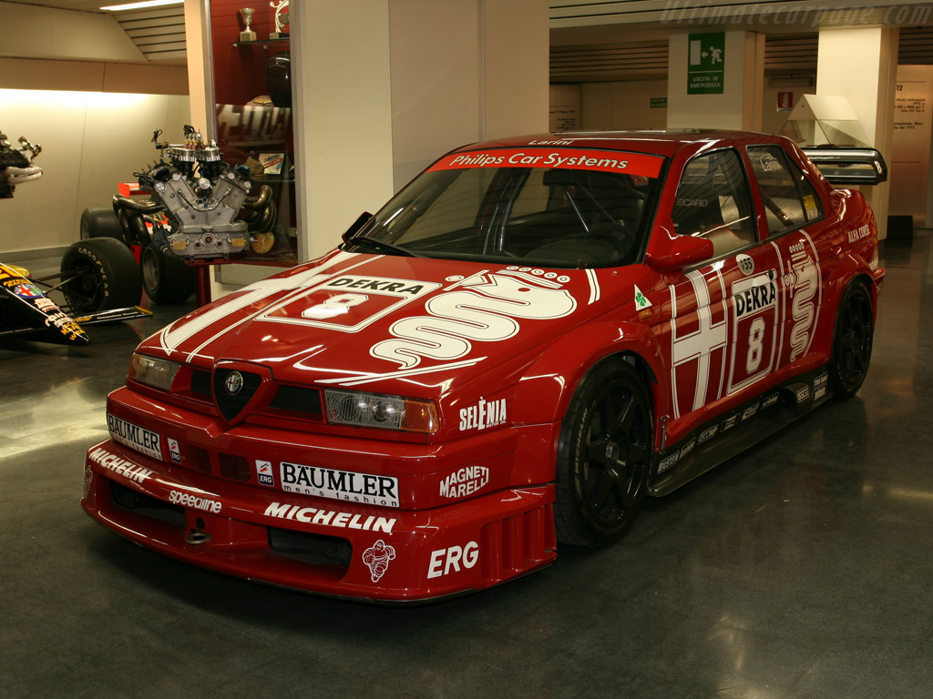 1993 - 1996 Alfa Romeo 155 V6 TI DTM - Images, Specifications and  Information