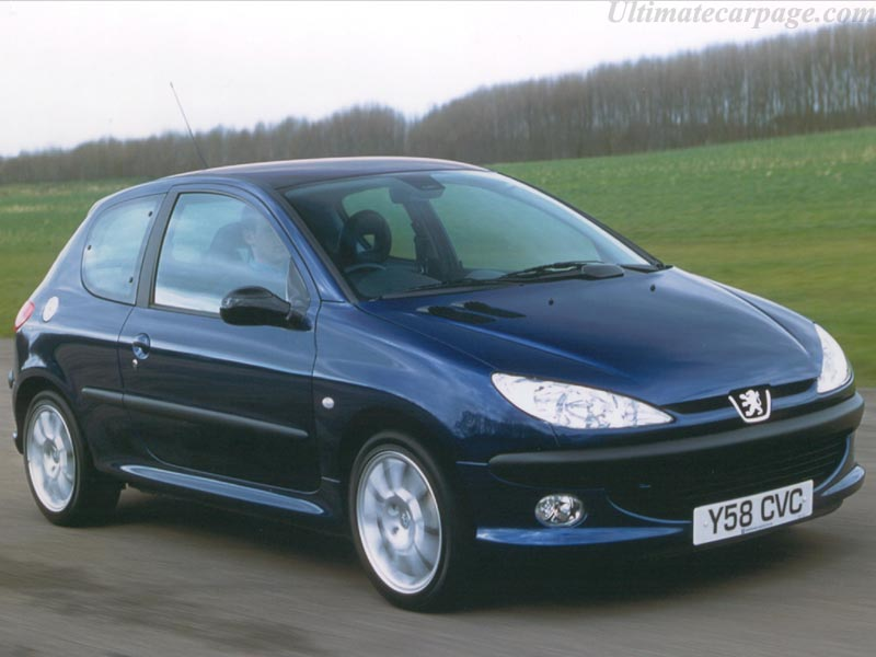 2000 peugeot 206 gti gallery images. Black Bedroom Furniture Sets. Home Design Ideas