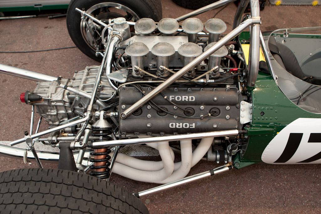 Lotus 49 Cosworth S N R2 2010 Monaco Historic Grand Prix High Resolution Image 11 Of 24