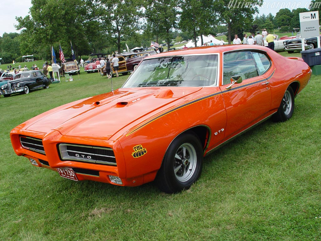 Pontiac GTO Judge Ram Air III High Resolution Image (1 of 6)