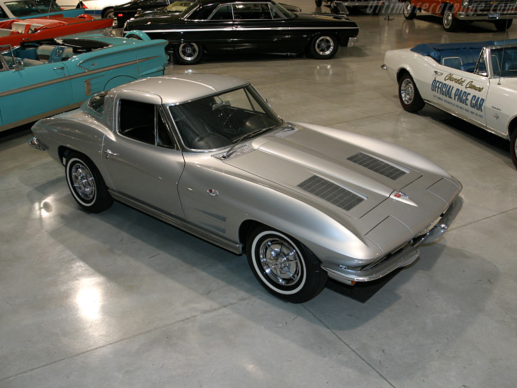 Split Window Corvette >> Chevrolet Corvette C2 Sting Ray Coupe 'Split Window' High Resolution Image (1 of 12)