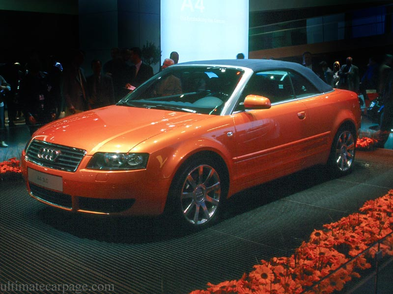 Audi A4 Cabriolet High Resolution Image 1 Of 6