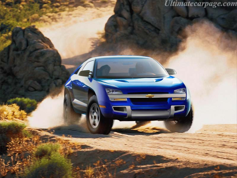 Chevrolet developed the Transformer-like Borrego concept vehicle to target