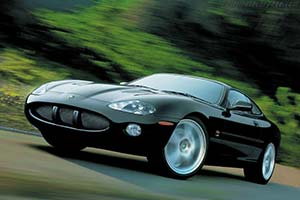 Click here to open the Jaguar XKR Coupe gallery