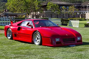 Click here to open the Ferrari 288 GTO Evoluzione gallery