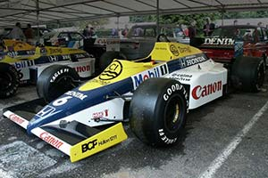 Click here to open the Williams FW10B Honda gallery