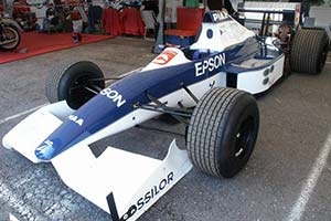 Click here to open the Tyrrell 019 Cosworth gallery