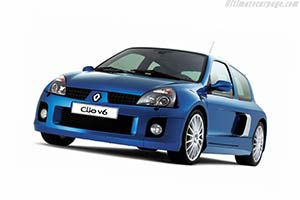Click here to open the Renault Sport Clio V6 EVO II gallery