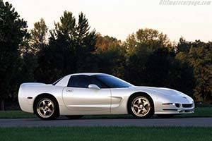Click here to open the Chevrolet Corvette C5 White Shark gallery