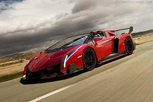 Click here to open the Lamborghini Veneno Roadster gallery