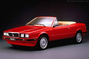 Click here to open the Maserati BiTurbo Spider gallery