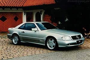 Click here to open the Mercedes-Benz SL 60 AMG gallery