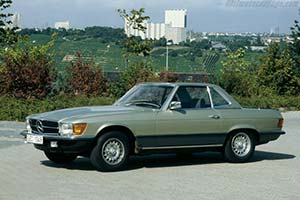 Click here to open the Mercedes-Benz 350 SL gallery