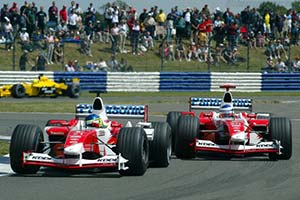 Click here to open the Toyota TF103 gallery