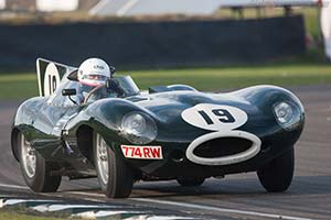 Click here to open the Jaguar D-Type Works Long Nose  gallery