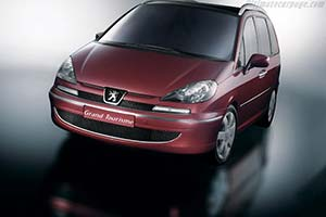 Click here to open the Peugeot 807 GT gallery