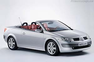 Click here to open the Renault Mégane II Coupe-Cabriolet gallery