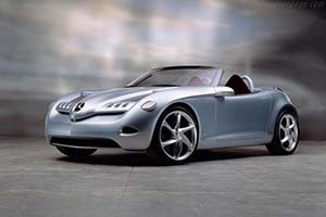 Click here to open the Mercedes-Benz Vision SLA gallery