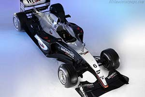 Click here to open the McLaren MP4-18 Mercedes gallery