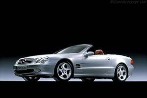 Click here to open the Mercedes-Benz SL 350 Mille Miglia gallery