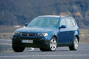 Click here to open the BMW X3 3.0i gallery