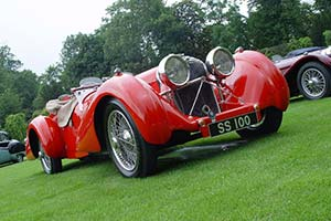 Click here to open the Jaguar SS 100 3.5-litre Saoutchik Roadster gallery