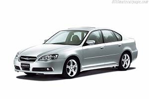 Click here to open the Subaru Legacy 3.0R gallery