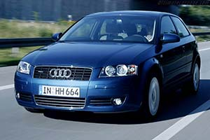 Click here to open the Audi A3 3.2 Quattro gallery