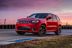 Click here to open the Jeep Grand Cherokee Trackhawk gallery