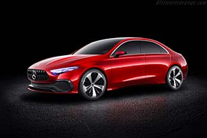 Click here to open the Mercedes-Benz Concept A Sedan gallery