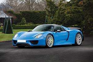 Click here to open the Porsche 918 Spyder  gallery