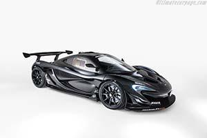 Click here to open the McLaren P1 GTR  gallery