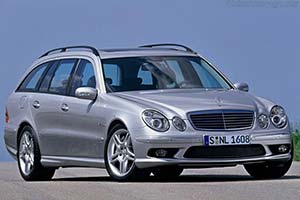 Click here to open the Mercedes-Benz E 55 Estate gallery