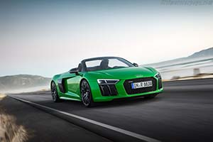 Click here to open the Audi R8 Spyder V10 plus gallery