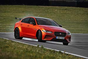 Click here to open the Jaguar XE SVO Project 8 gallery